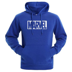Hot 2018 Autumn And Winter Brand Sweatshirts Men High Quality MARVEL letter printing fashion mens hoodies-noashe