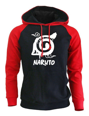 2017 Autumn Winter Sweatshirt For Male Fleece Warm Hoody With Hat Streetwear Harajuku Anime NARUTO Hipster Hoodie K-pop Pullover-noashe