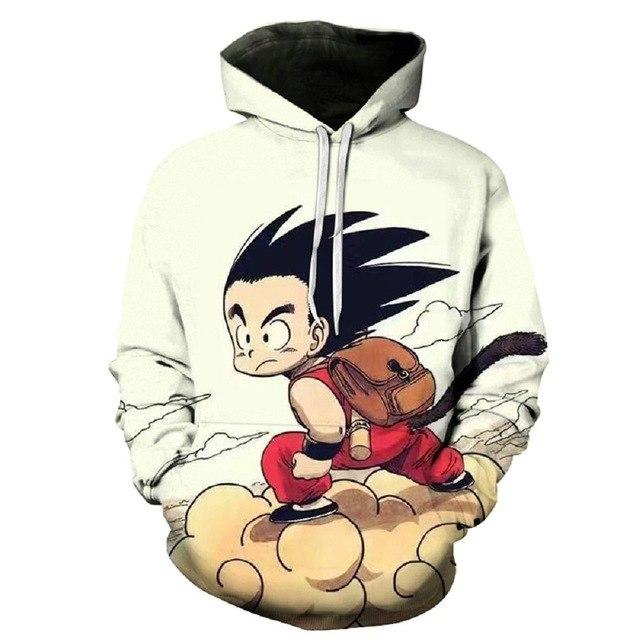 Devin Du Newest Anime Dragon Ball Z Super Saiyan 3D Hoodie Goku/Vegeta Pullovers Women Men Long Sleeve Outerwear Hoodies-noashe