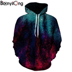 BIANYILONG Brands 3d Sweatshirts Hooded Men/Women Hoodies With Cap Printing Autumn Winter Loose Thin Space Hoody Tops-noashe