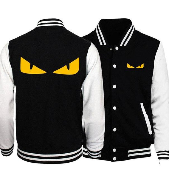 2017 spring new fashion baseball uniform Classic Heavy Metal harajuku Rock print men hip hop punk sweatshirts man's brand hoody