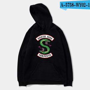 BTS Riverdale Oversized Hoodie Print European Style Boys Streetwear Tops Creative Winter Hoodies Men Sweatshirts Hooded Pullover-noashe
