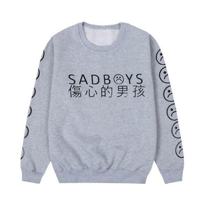Yung Lean Sad Boys Hoodie Men Cotton Yung Lean Unknown Death Sweatshirt Casual Fleece Lil Peep Hoodies Men Women Streetwear Hood-noashe