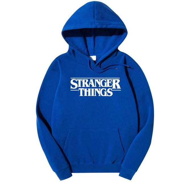 Stranger Things Sweatshirt New TV Show Men Cotton Clothes Stranger Things Hoodie Sweatshirts Fashion Hooded Most Free Shipping-noashe