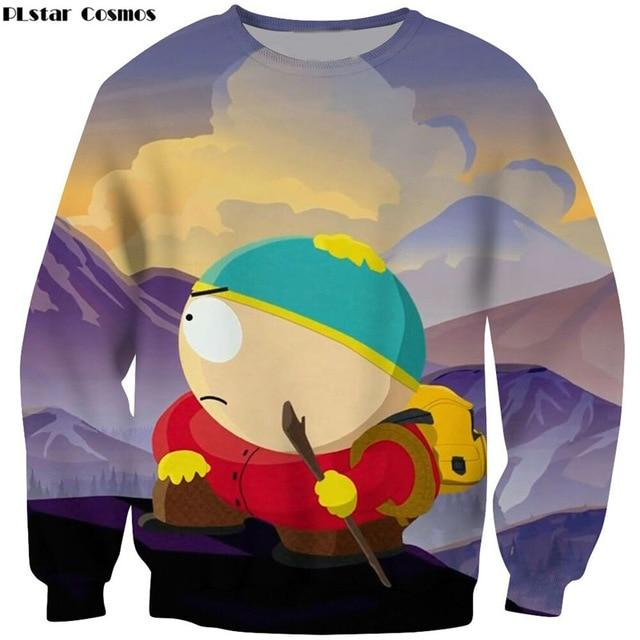 PLstar Cosmos Hoodies Sweatshirts Men Fashion 3D Print Anime South Park Hooded Sweats Tops Streetwear Unisex funny Pullover-noashe