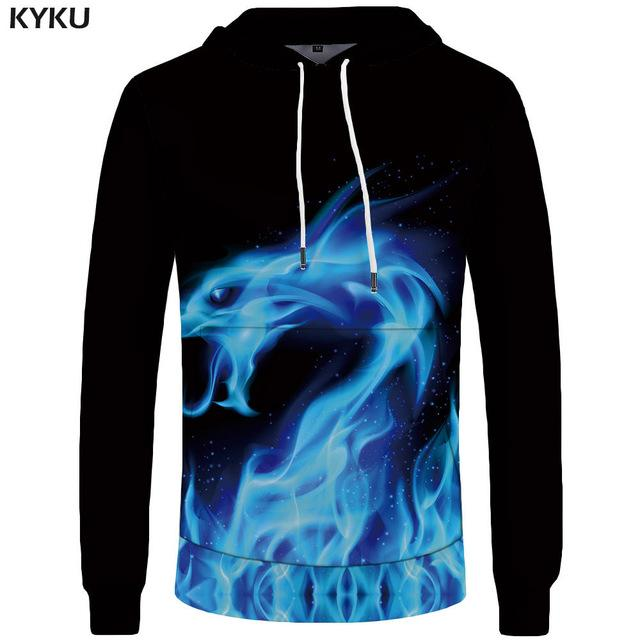 KYKU Brand World Map Sweatshirts Earth Sweat shirt Funny 3d hoodies Mens Clothing Men Cool Anime Hoody Man-noashe