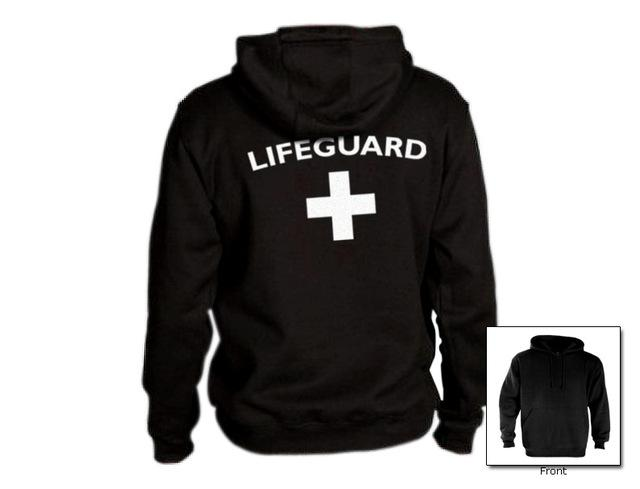 Autumn Winter Lifeguard Hoodies Men Long Sleeve Hoody Sweatshirts Women Red Life Guard Hooded Jumper Tracksuits Jacket Cardigan-noashe