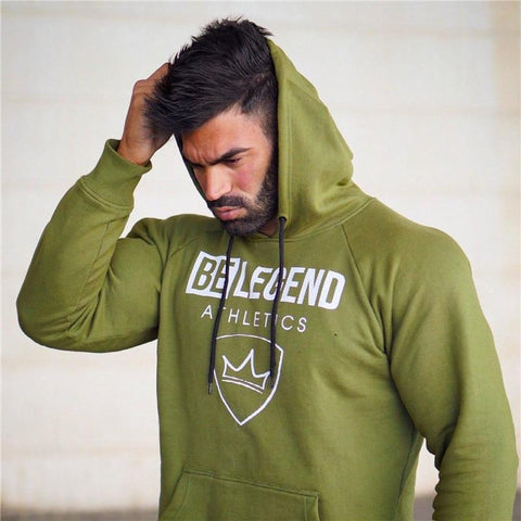 YEMEKE brand Long Sleeve hoodies Sweatshirt Men 4 color solid casual Sweatshirt Men Pullover Clothing  M-2XL WY008