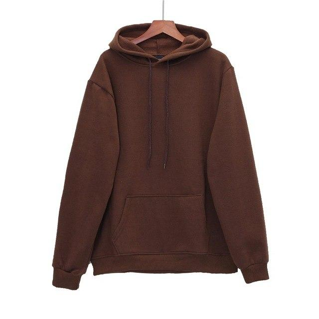 QoolXCWear New Fashion Men hoodies Sweatshirt Men Hooded coffee/khaki/black/green Mens Hoodies And Sweatshirts Casual -Clothing-noashe