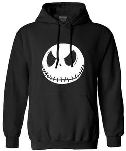New autumn Mens sweatshirt men fashion 2018 high quality pullovers Jack Skellington Male Charcoal long Sleeve hoodies tracksuit-noashe