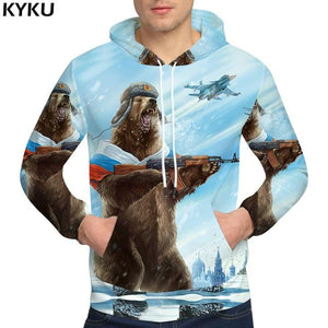 KYKU Brand Dollars Hoodies Money Sweat shirt Funny 3d hoodies Hip Hop Hoodie Men Cool 2018 Hoody-noashe