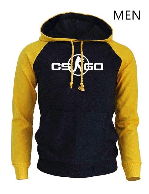 CS GO Game Cosplay Print Hoodies Fashion Streetwear 2018 New Arrival Spring Sweatshirt For Men Harajuku Hip Hop Punk Pullover-noashe