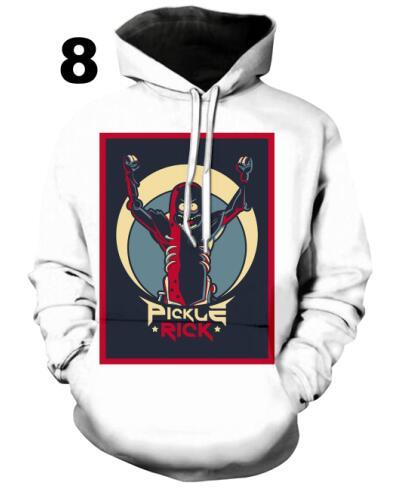 PLstar Cosmos rick and morty jumper Fashion 3D Hoodies Creative printing casual Hoody Funny Sweatshirt size S-5XL Drop shipping-noashe