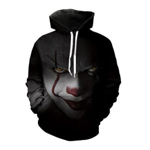 Alisister Horror Movie Clown Hoodie 3d Skull Sweatshirt EUR Plus Size COSPLAY Sportswear Tracksuit Men Women Unisex Pullover-noashe