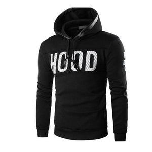 New Style Men Male Winter Tracksuit Sweatshirt Slim Hoodie Warm Pullover Sweatshirt Hooded Coat Outwear Tops Blouse Wolovey#15-noashe