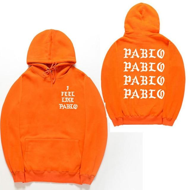 Fashion off white sweatshirts men funny letter hoodies i feel like pablo hoodie sweatshirt hip hop pullover hoody sweatshirt-noashe