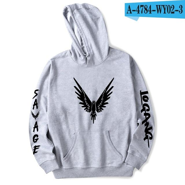 Logan Paul Winter Hoodies Men Sweatshirts Hooded Pullover Casual New European Style Cool Hipster Hoodies Men 4xl-noashe