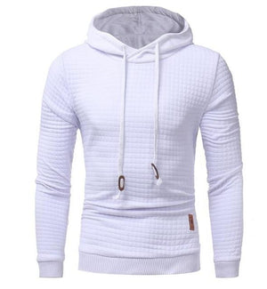 Hoodies Men 2018 Brand Male Long Sleeve Solid Color Hooded Sweatshirt Mens Hoodie Tracksuit Sweat Coat Casual Sportswear S-4XL-noashe