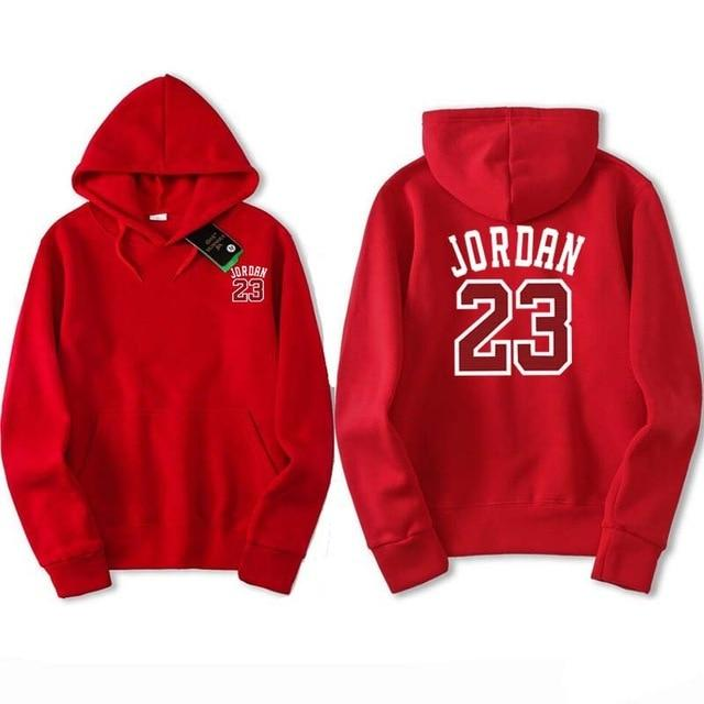 2018 Autumn and winter Brand JORDAN 23 Men Sportswear Fashion brand Print Mens hoodies Pullover Hip Hop Mens Sweatshirts-noashe
