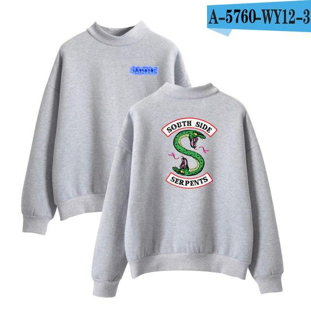 LUCKYFRIDAYF Riverdale Hit TV Plays Oversize Turtlenecks Hoodies Sweatshirts Women/Men Hoodies Loose Casual Sweatshirts Outwear-noashe