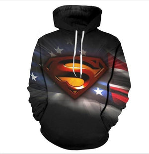 YFFUSHI 2018 Hot Sale Men hoodies Fashion men Spiderman 3d print Hoodies Streetwear Casual Cospaly Sweatshirt Plus Size 5XL-noashe