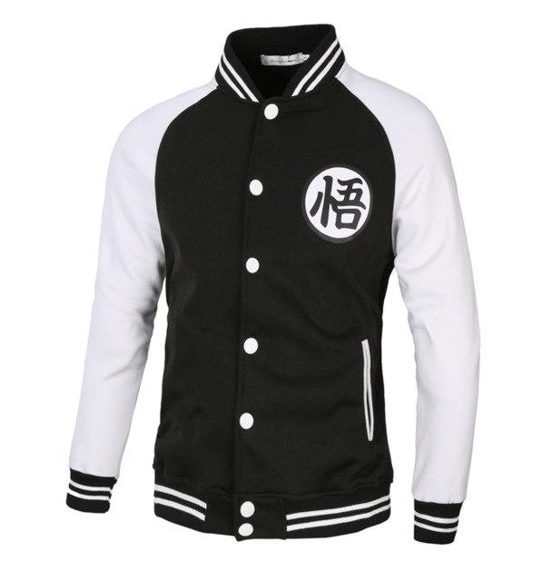 Hoodies Men Dragon Ball Coat Male Casual Jacket Moleton Masculino Slim Cotton Mens Hip Hop Cosplay Sweatshirt Costume XXXL-noashe