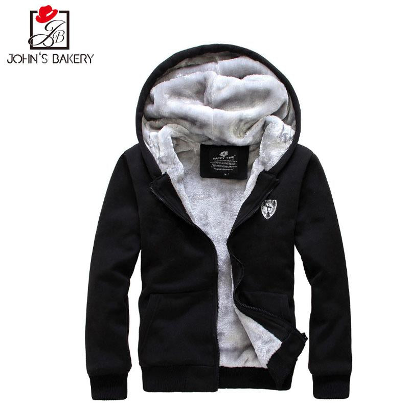 018 New Fashion Hoodies Brand Men Plus Velvet Thicker Sweatshirt Male Men'S Sportswear Hoody Hip Hop Shrink Autumn Winter Hoodie-noashe