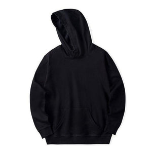 2018 New Solid Hoodies men/women Autumn Winter Fashion Warm Men's Hoodies And sweatshirt Cotton Hip Hop Plus Size Clothes 4XL-noashe