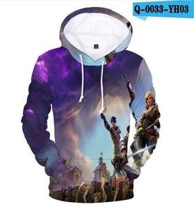 Aikooki Yellow And Blue 3d Fire Hoodies Men Sweatshirts Women