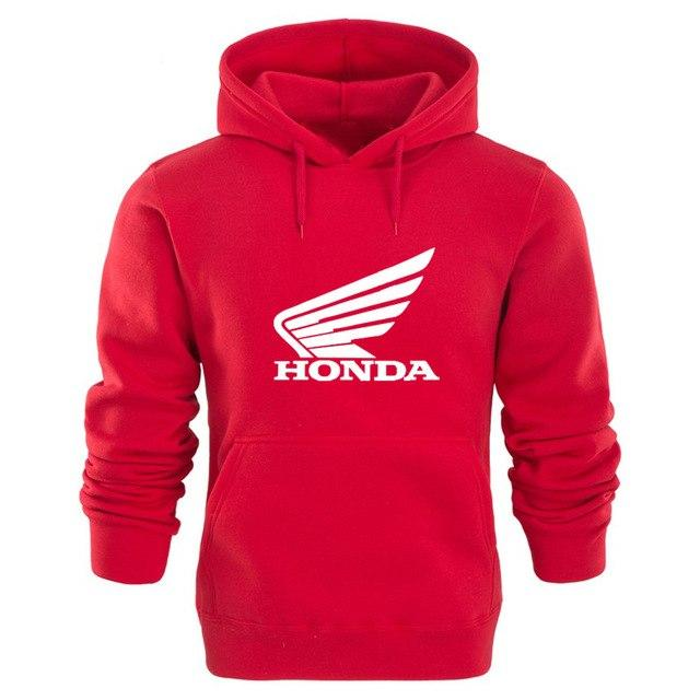 Spring and Autumn Men's HONDA Honda Old pattern Printing Hoodie Youth Leisure Warehouse-noashe