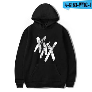 Xxxtentacion Hoodies sad men Sweatshirts rap rapper hip hop Hooded Pullover sweatershirts male/Women sudaderas hood hoddie-noashe
