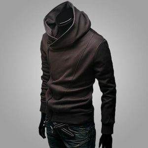 Brand 2018 Hoodie Pure Color Zipper Cardigan Hoodies Men Fashion Tracksuit Male Sweatshirt Hoody Mens Purpose Tour Hoodie-noashe