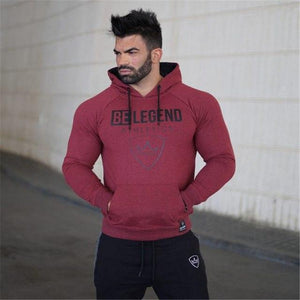 Mens fashion brand hoodies gyms Fitness bodybuilding Sweatshirt pullover sportswear male Leisure jacket clothing-noashe