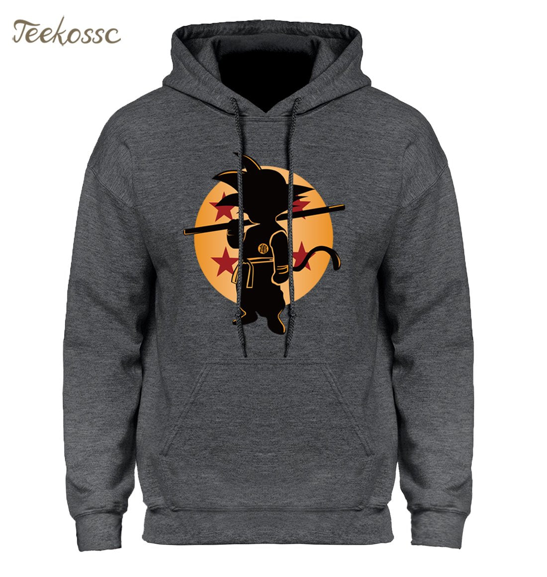 Dragon Ball Z Pocket Hoodie Men Japan Anime Hoodies Mens DragonBall Hooded Sweatshirt 2018 Winter Pullover Long Sleeve Outerwear-noashe