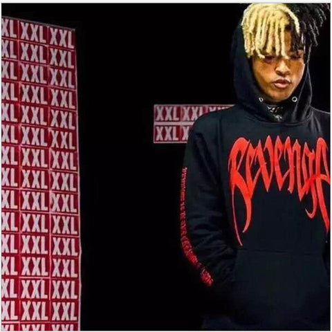 LUCKYFRIDAYF Xxxtentacion Revenge Cool Hoodies Men/Women Hot Sale Sweatshirts Rapper Hip Hop Hooded sweatershirts male/Women 4XL