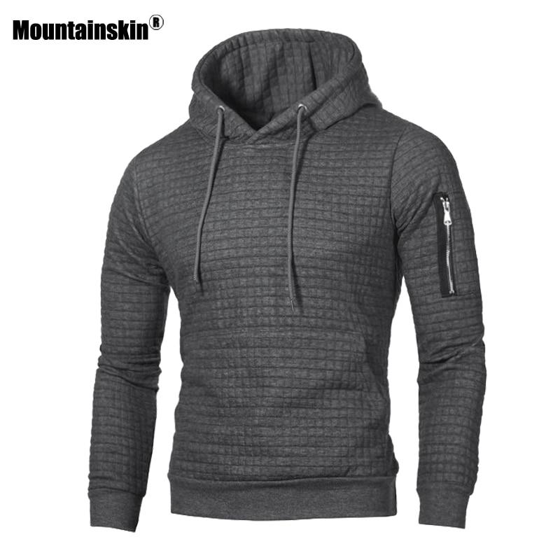 Mountainskin Men's Hoodies Spring Autumn Sportswear Long Sleeve Casual Hooded Coat Mens Brand Clothing Male Sweatshirt 4XL SA519-noashe