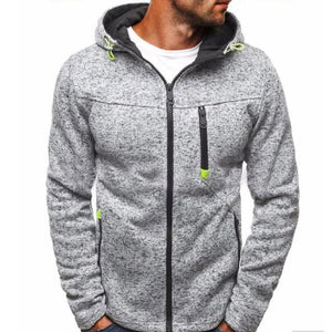 2018 New Fashion Mens Hoodies Brand Men Casual Zipper Sweatshirt Male Hoody Hip Hop Autumn Winter Hoodie Mens Pullover-noashe