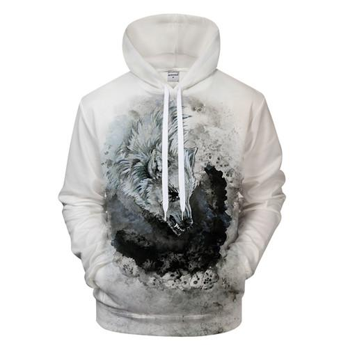 Ying and Yang Wolf Hoodies Streetwear Sweatshirt Casual Hoody Men 3D Pullover Harajuku Tracksuit Male HipHop DropShip ZOOTOPBEAR-noashe
