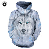 Wolf Sweatshirts Hooded Jackets Men Women Autumn Winter Hoodies 3d Brand Male Long Sleeve Tracksuit Casual Pullovers Plus Size-noashe