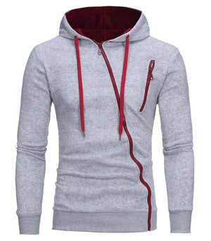 New 3D Hoodies Men 2018 Brand Male Hoodie Sweatershirt Side Oblique Pull Sweatshirt Men Moletom Masculino Hoodies Slim Tracksuit-noashe