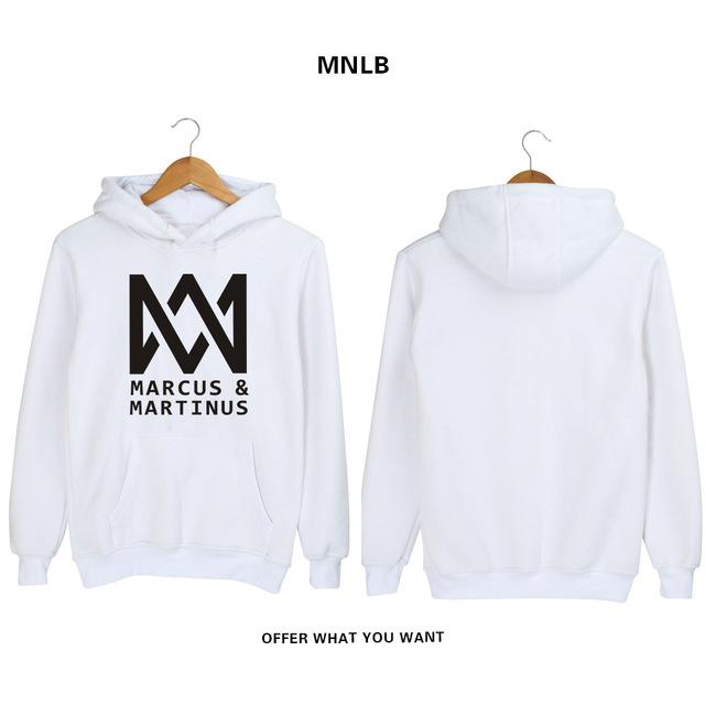 SMZY Marcus And Martinus Hoodie Sweatshirt Autumn Long Sleeve Sweatshirt Fashion Cotton Blend Hoodies Men Hooded Popular Clothes-noashe