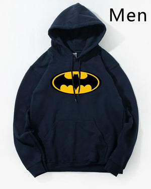 Batman Cartoon Hoodie Hoodies Sweatshirt Men 2018 Winter Autumn Hooded Hoody Homens Casual Silm Design Hot Sale Male Men's Coat-noashe