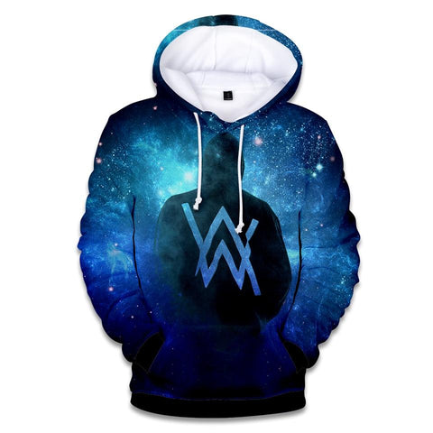 2018 Hot Fashion Alan Olav Walker 3D Hoodies Men/women High Quality Harajuku 3D Print Alan Walker Men's Hoodies Clothes