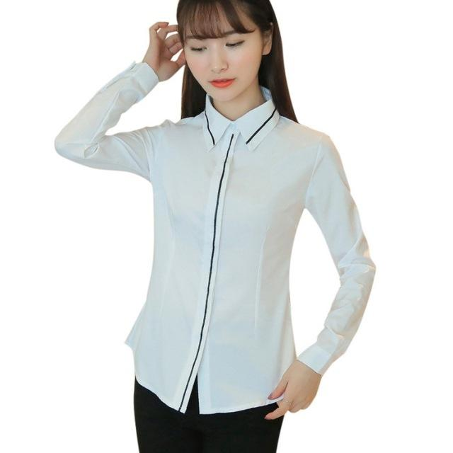 Female Elegant Black Bow Tie White Blouses Chiffon Peter Pan Collar Casual Shirt Ladies Tops School Blouse womens tops and shirt-noashe