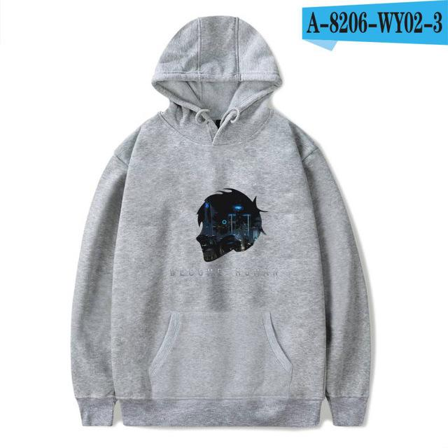 2018 Detroit Become Human Hoodies 3d Hot Game Printed Streetwear Hoodies Hip Hop Women/Men Detroit Winter Warm Sweatshirts-noashe