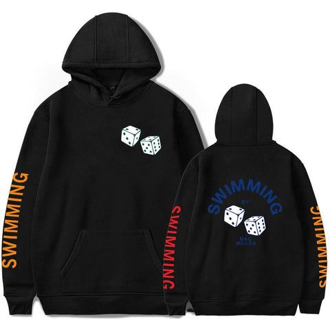 BTS 2018 Men/Women R.I.P. Mac Miller Hoodies Sweatshirts Men/Women Hip Hop Swimming Forever Sweatshirts Hoodies Hoody Clothes