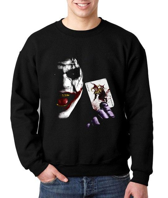 2018 new autumn winter tracksuit funny bodybuilding joker sweatshirts harajuku Batman hip hop fleece brand clothing hoodies men-noashe