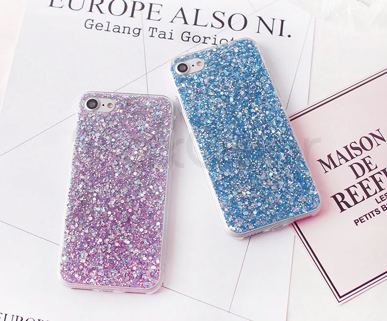 Celebrity Inspired Glitter Case for iPhone