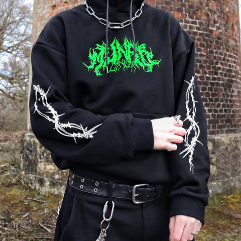 MUNROLONDON™️ TOXIC WASH OUT HOODIE