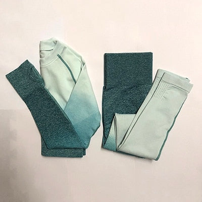 Ombre Yoga Set